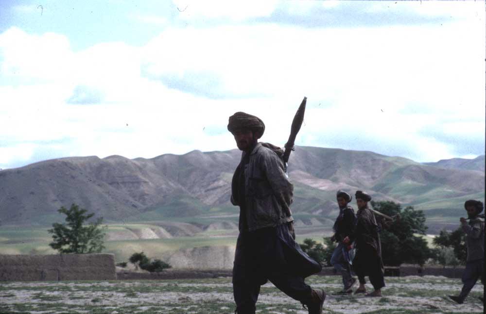 מוג'הד בדחשן אפגניסטאן